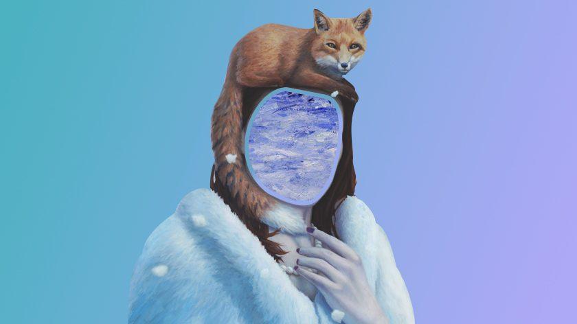 Portrait neige